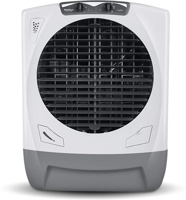 Maharaja Whiteline 65 L Desert Air Cooler(White, Grey, Rambo Grey / AC-303)
