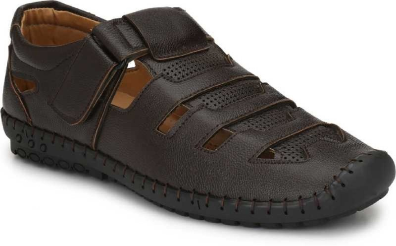 DEALSINJAIPUR Men Brown Sandals