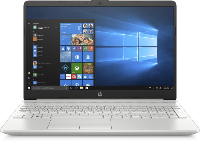 HP Notebook Core i3 8th Gen - (4 GB/1 TB HDD/Windows 10) 15s-du0120tu Laptop(15 inch, Silver, With MS Office)