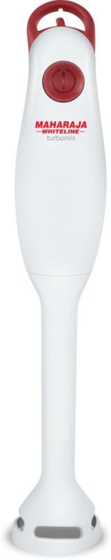 Maharaja Whiteline HB 115 Turbomix 130 W Hand Blender(White, Red)