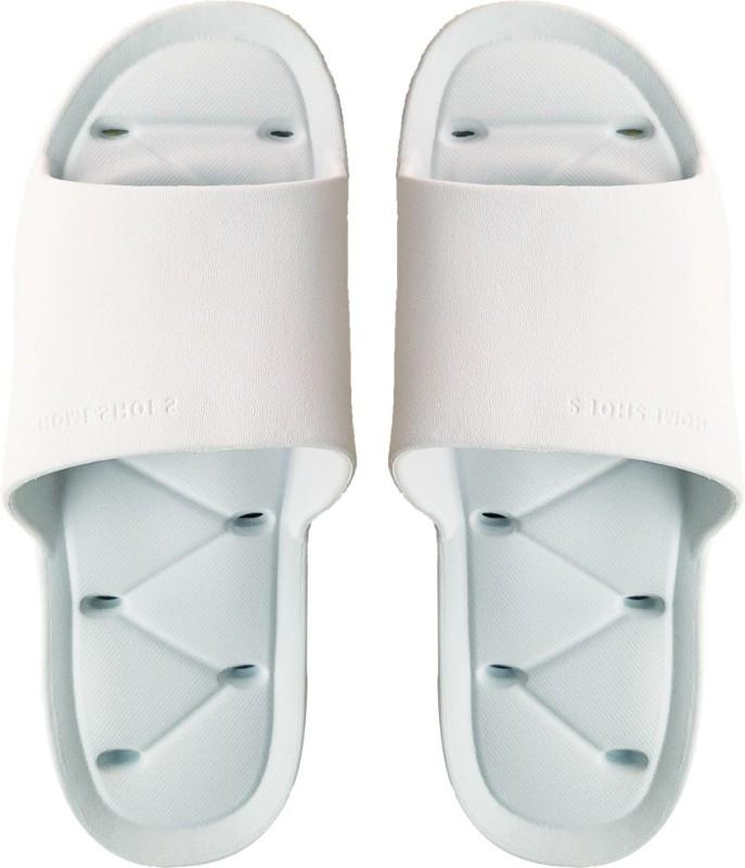 DRUNKEN Slipper for Women's Flip Flops House Slides Home Bathroom Clogs Sky Blue Sandals Slides
