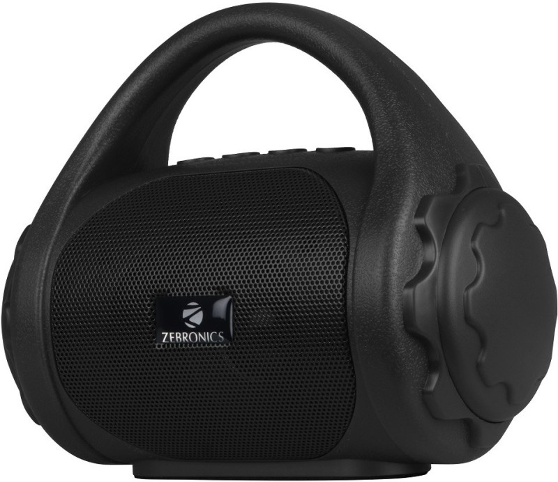 Zebronics ZEB-COUNTY 3 W Bluetooth Speaker(Black, Mono Channel)