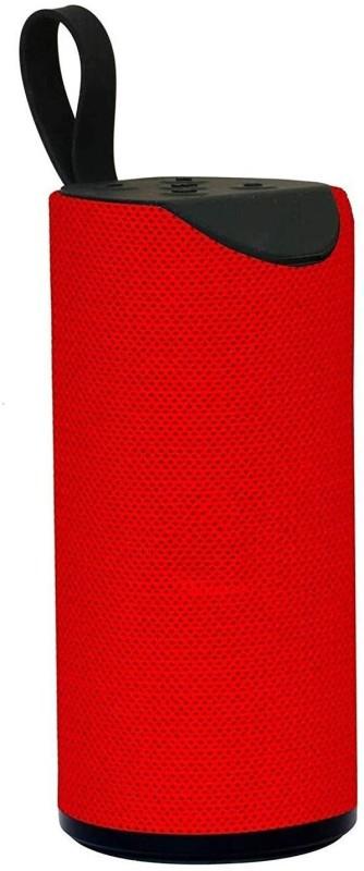 hitvill TG-113 Wireless Bluetooth Speaker good Quality Sound Deep Bass 15 W Bluetooth Speaker(Red, Mono Channel)