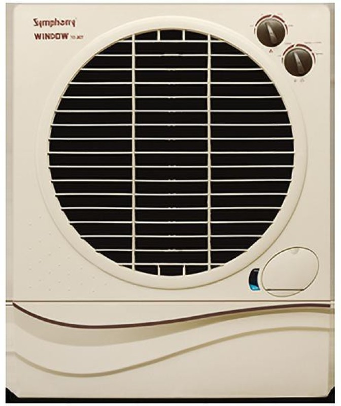 Symphony 70 L Window Air Cooler(WHITE BROWN, WINDOW_70 JET)