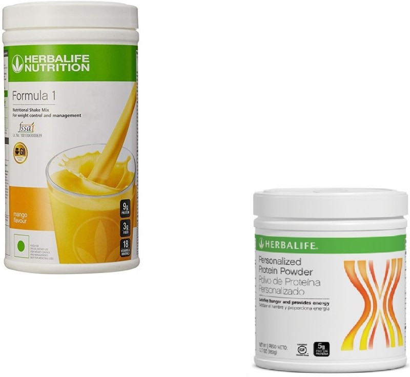 Herbalife F1 MANGO SHAKE WITH P1 PERSONALIZED PROTIEN Combo(2)