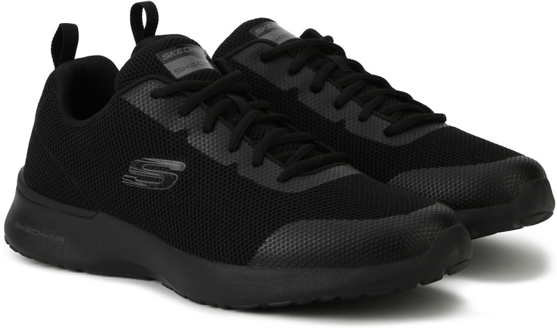 Skechers Skech-Air Dynamight - Winly Running Shoes For Men(Black)