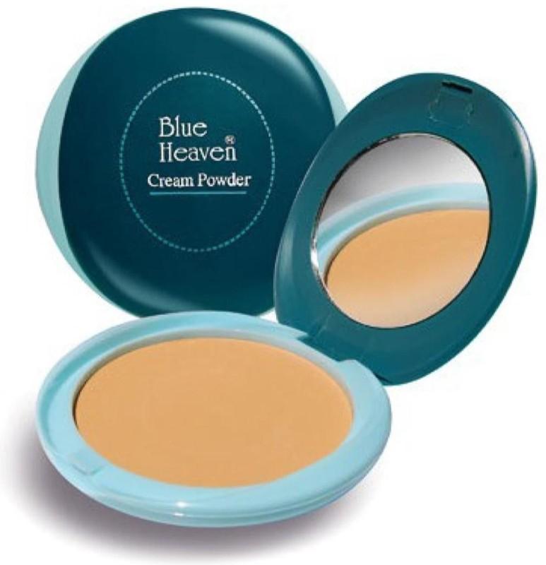 Blue Heaven Green Cream Powder Compact (Natural, 20 g) Compact(natural, 20 g)