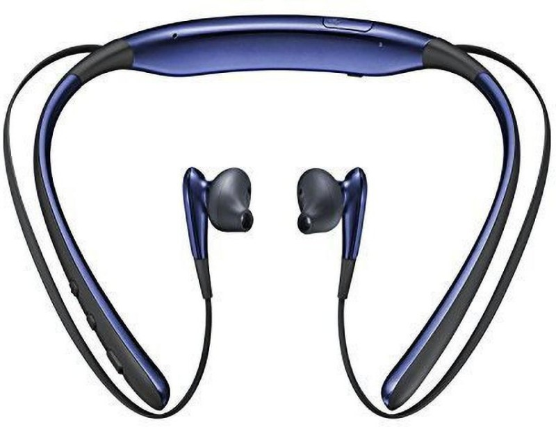 Sendily LVL U Bluetooth Headphones wireless N5A-MJ HEADSET Bluetooth Headset(Black, Blue, Gold, In the Ear)