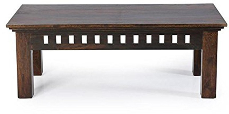 Kendalwood Furniture Solid Wood Coffee Table(Finish Color - Dark Brown Finish)
