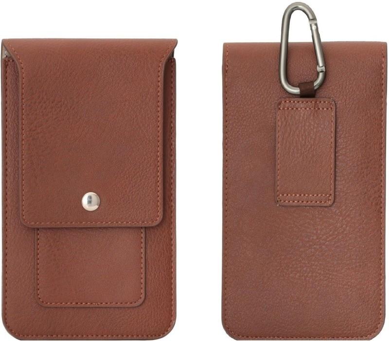 DOB Wallet Case Cover for Meizu 15+ / Meizu 15 Plus(Brown, Holster)