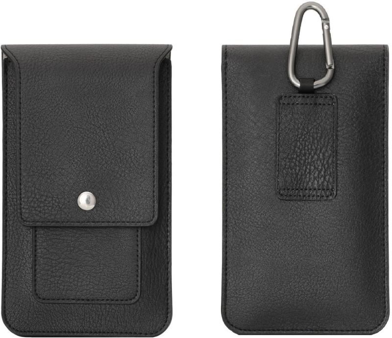 PIRUM Wallet Case Cover for Meizu 15+ / Meizu 15 Plus(Black, Holster)