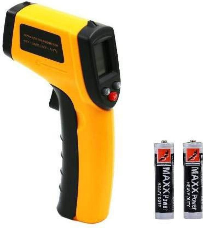 bosig bom0286 -50 To +380 Degree Digital Non-Contact IR Infrared Gun Thermometer Laser Point Targeting GM380 Instant Read Thermocouple Handheld Digital LCD Laser Backlight Temperature Tester Pyrometer Thermometer(Multicolor)