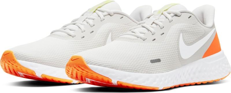 Nike Revolution 5 Running Shoes For Men(Grey)