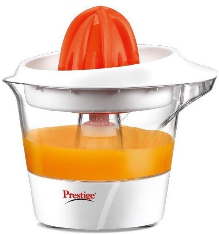 Prestige PCTJ 04 25 W Juicer(White, Orange, 1 Jar)