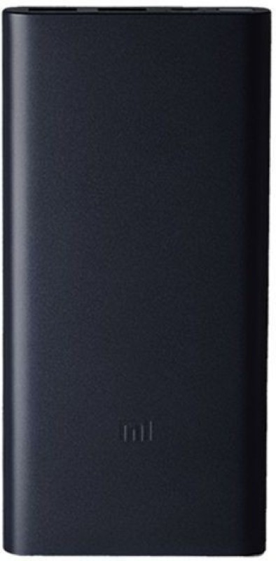 Mi 10000 mAh Power Bank (Fast Charging, 18 W)(Black, Lithium Polymer)