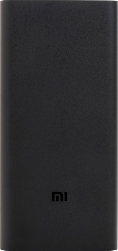 Mi 20000 mAh Power Bank (Fast Charging, 18 W)(Black, Lithium Polymer)