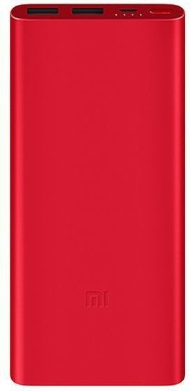 Mi 10000 mAh Power Bank (Fast Charging, 18 W)(Red, Lithium Polymer)