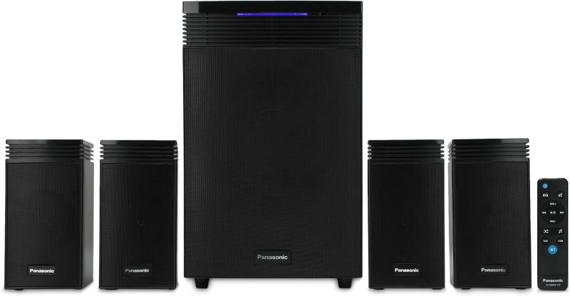 Panasonic SC-HT40GW-K 80 W Bluetooth Home Theatre(Black, 4.1 Channel)