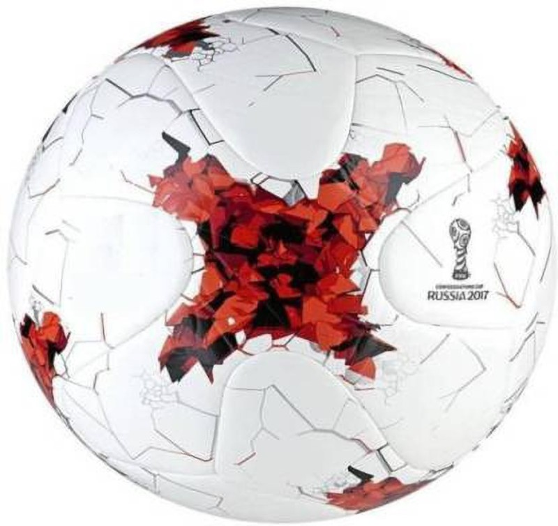 SBM russia red Football - Size: 5(Pack of 1, Multicolor)