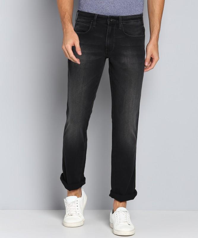 Wrangler Regular Men Black Jeans