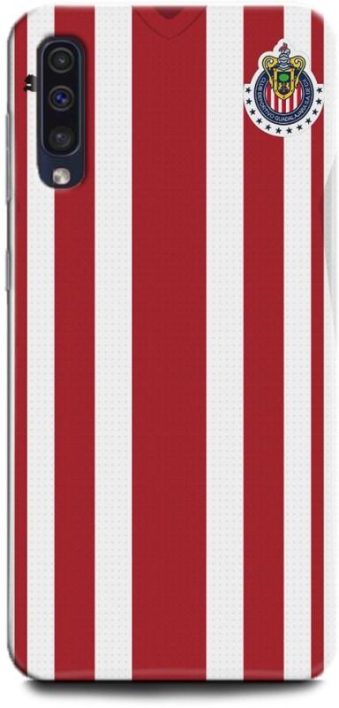 INDITEX Back Cover for Samsung Galaxy A70/ Chivas Jersey, Chivas, Football, Guadalajara, Jersey(Multicolor, Shock Proof)