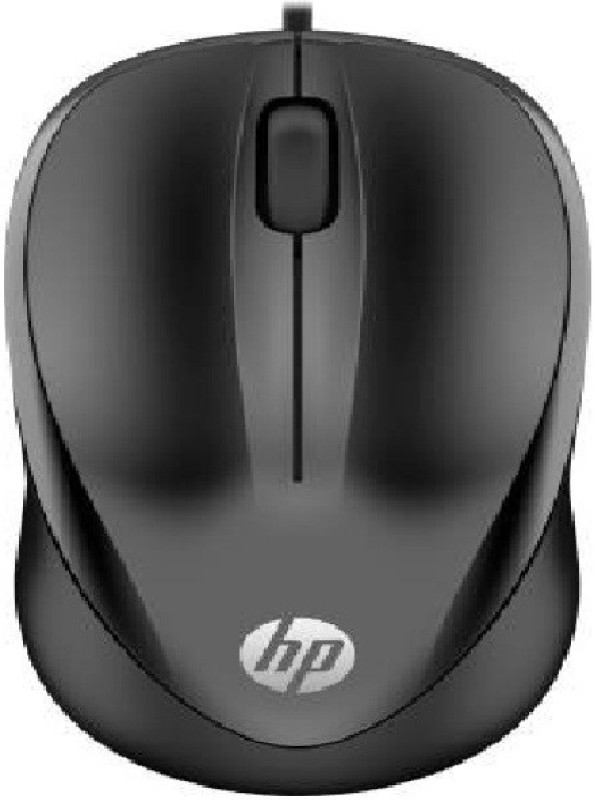 HP 1000 Wired Optical Mouse (USB 3.0, USB 2.0, Black Wired Optical Mouse(USB 2.0, Black)