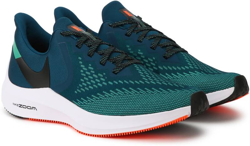 Nike Air Zoom Winflo 6 Running Shoes For Men (Green)