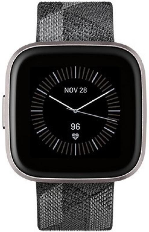 Fitbit Versa 2 Special Edition Smartwatch(Multicolor Strap Regular)