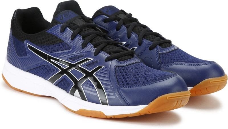 Asics UPCOURT 3 Badminton Shoes For Men(Blue)