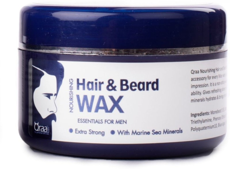 Qraa Nourishing Styling Hair and Beard Wax Hair Wax(100 g)
