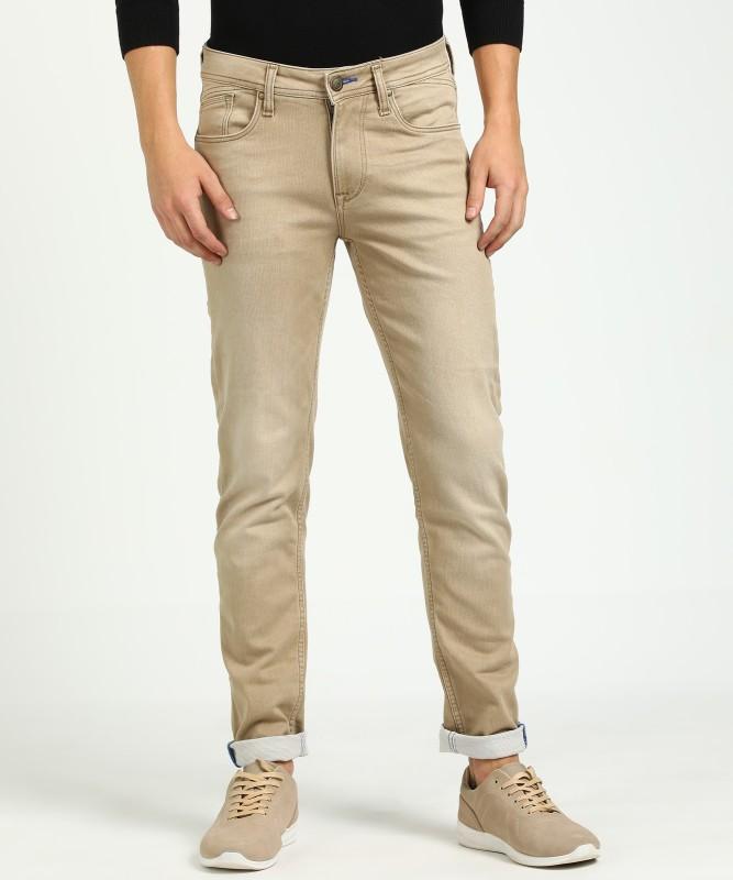 Killer Skinny Men's Beige Jeans