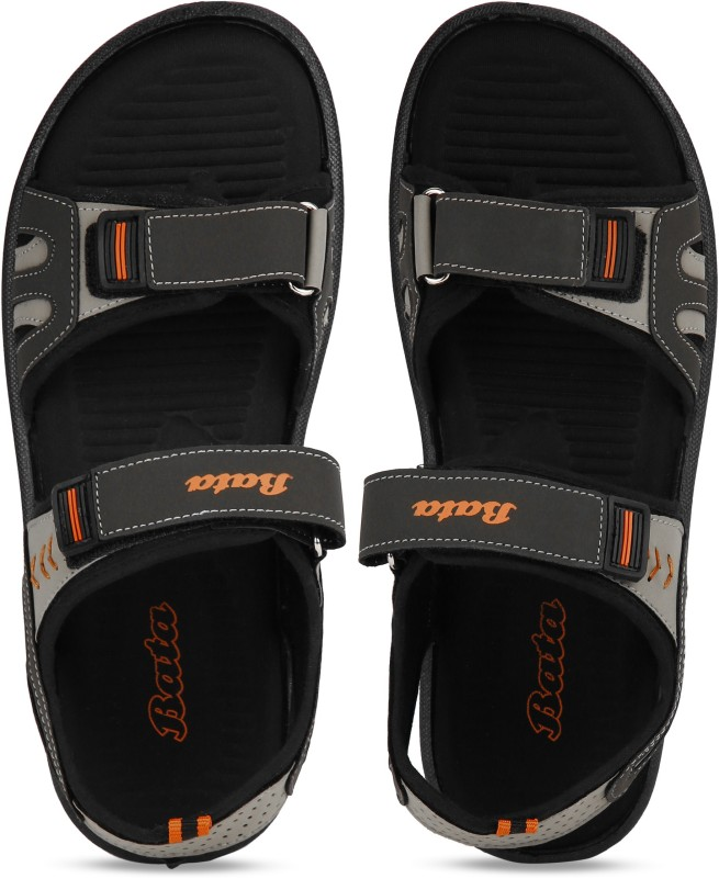 Bata Men Olive Sports Sandals