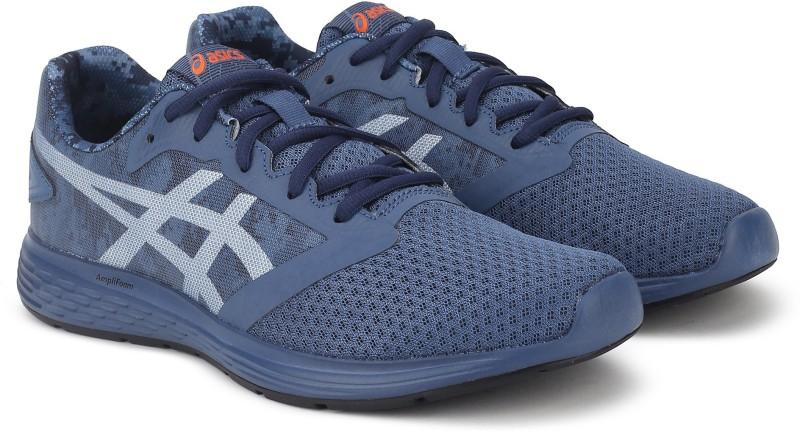 Asics Patriot 10 Sp Running Shoes For Men(Grey)