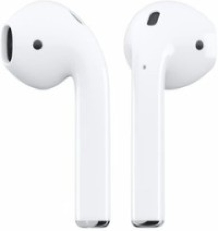 H&H Airpod's. 2 great sound true wireless eaphone for apple,;android Bluetooth Headset(White, In the Ear)
