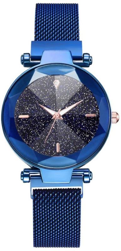 Rishtey Girls And Women Magnetic Blue Italy Movement Analog Watch - For Women