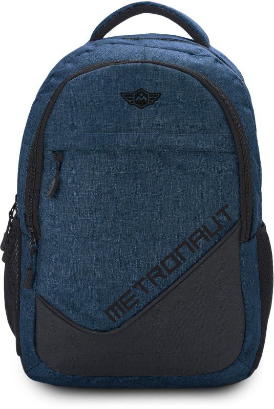 Metronaut Khadi Textured Hi storage 30 L Laptop Backpack(Blue)
