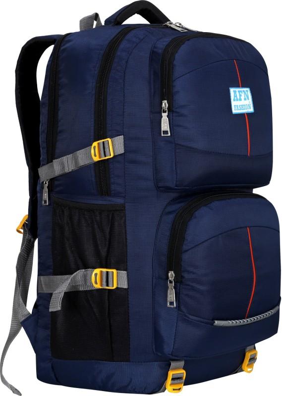 AFN FASHION 55L TRAVEL BACKPACK FOR OUTDOOR SPORT HIKING Rucksack - 55 L(Blue)