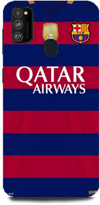 Play Fast Back Cover for Samsung Galaxy M30s/SM-M307FZBDINS QATAR AIRWAYS PRINTED(Multicolor, Hard Case)