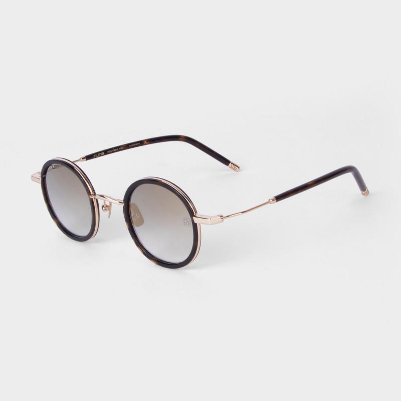 NUMI Paris Round Sunglasses(Brown)