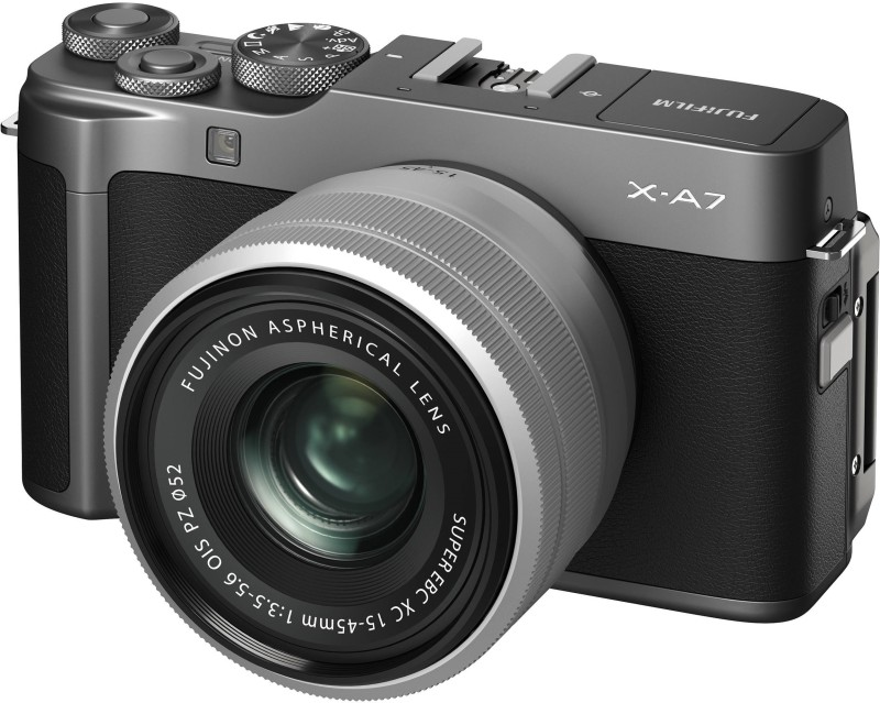 Fujifilm X Series X-A7 Mirrorless Camera Body With 15-45 mm Lens(Grey)