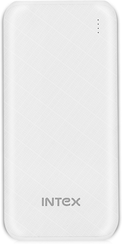 Intex 10000 mAh Power Bank (Fast Charging, 10 W)(White, Lithium Polymer)