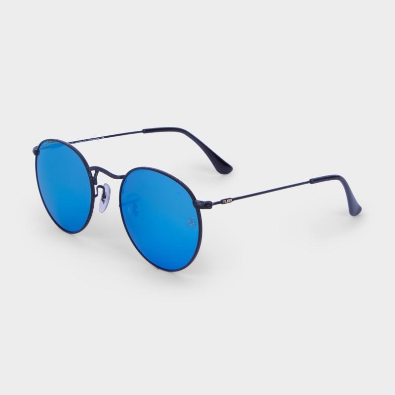 NUMI Paris Round Sunglasses(Blue)