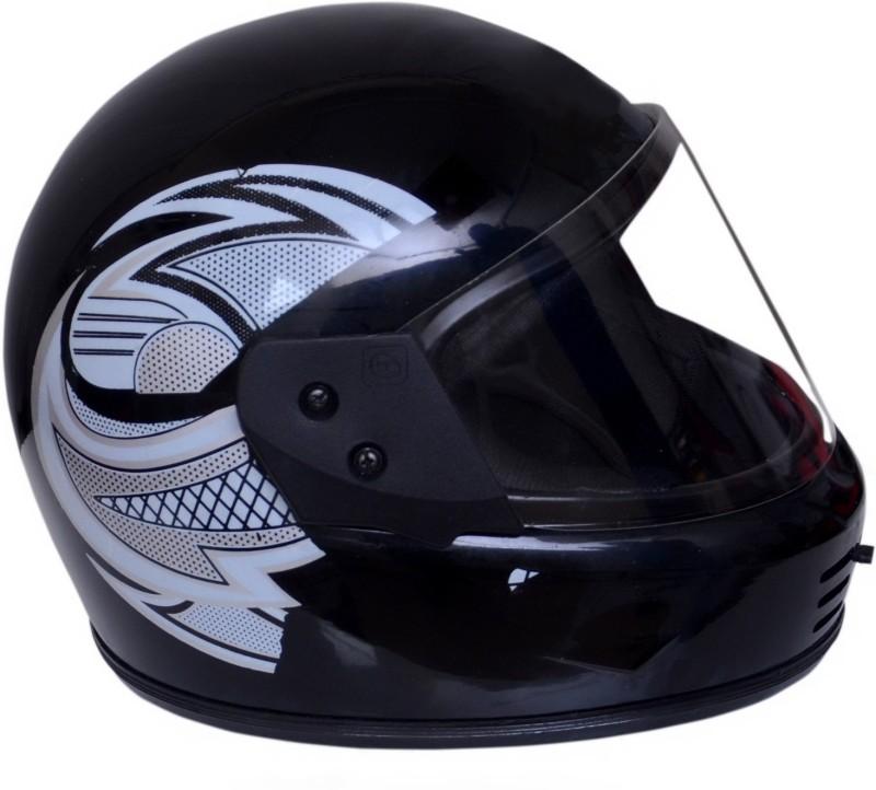 Dvis Dashing Full Face Helmet Black Motorbike Helmet Motorbike Helmet(Black)