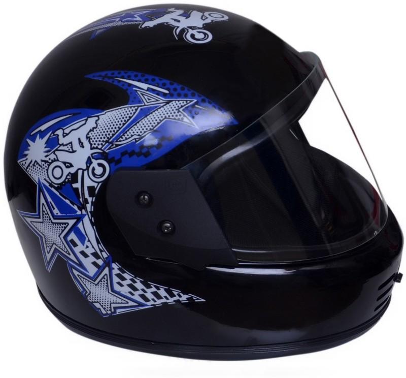 Dvis Dashing Full Face Helmet blue Motorbike Helmet Motorbike Helmet(Blue)