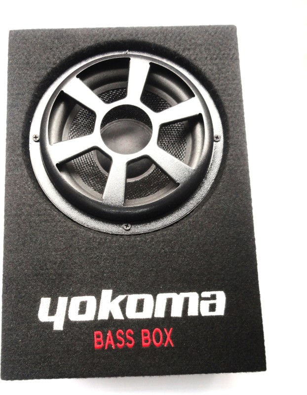 yokoma Underseat Bassbox Subwoofer(Powered , RMS Power: 70 W)