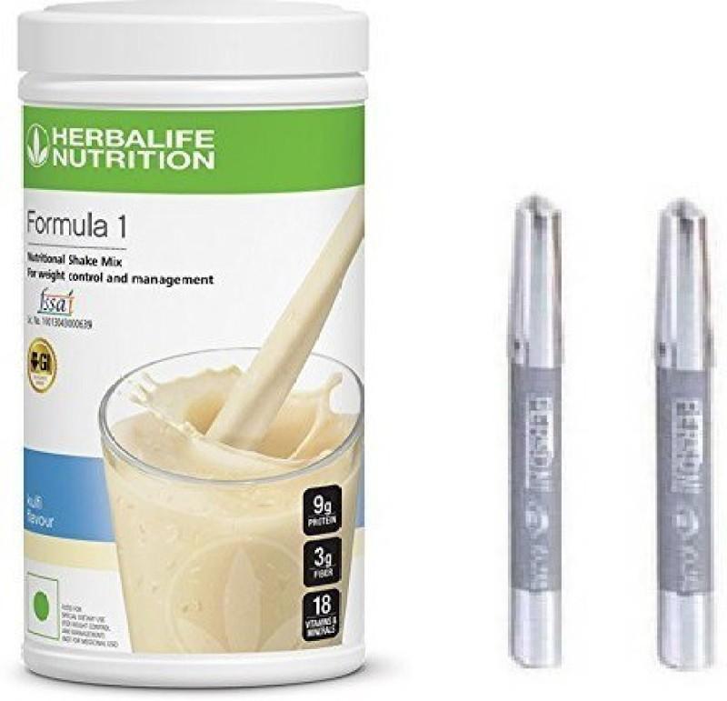 Herbalife F1 KULFI SHAKE WITH PERSONI KAJAL Combo(1 SHAKE 500GM, 2 PERSONI KAJAL)