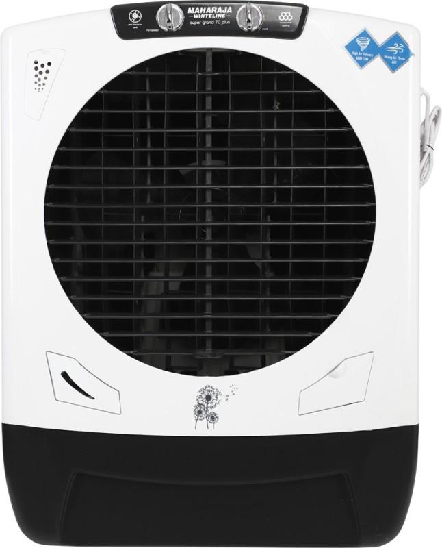 Maharaja Whiteline 70 L Desert Air Cooler(White, Black, Super Grand Plus)