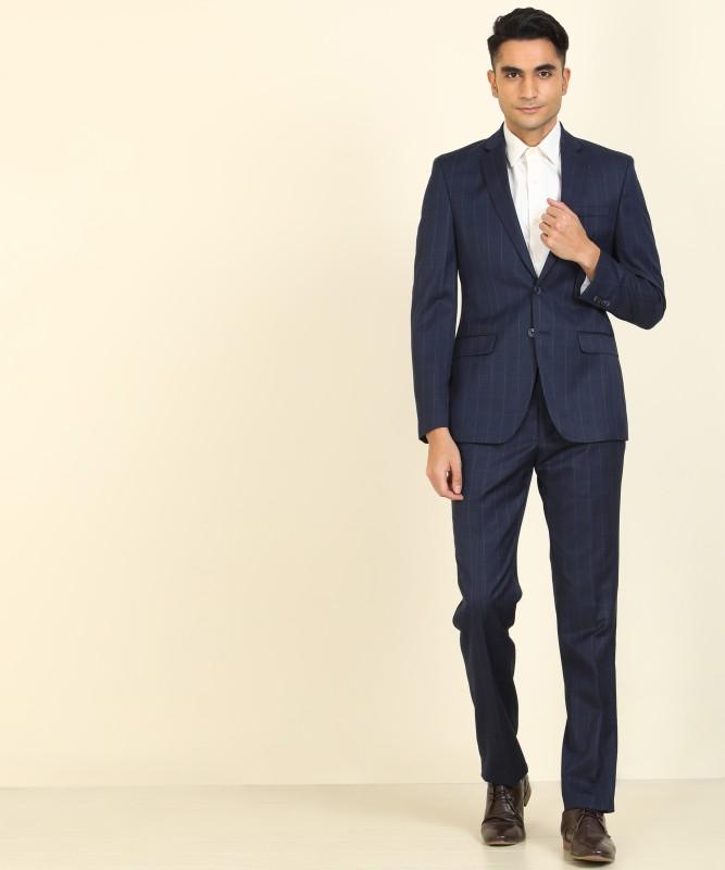 Park Avenue 2 Piece Suit Checkered Men Suit