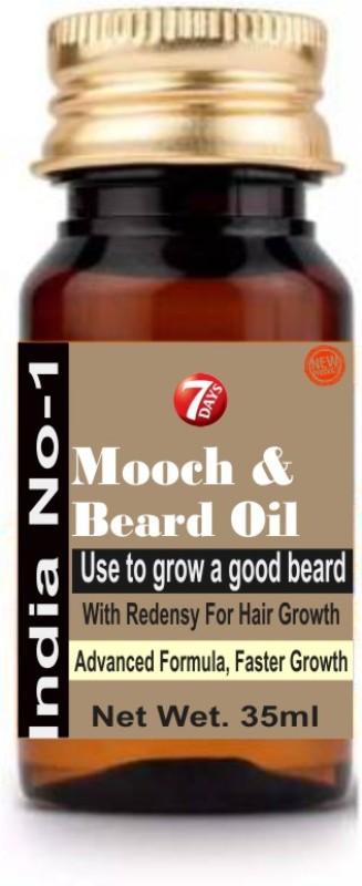 7 Days To grow a good beard, take No-1 beard growth oil. Hair Oil(35 ml)