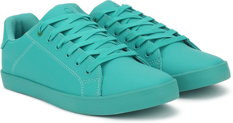 United Colors of Benetton Sneakers For Men(Green)